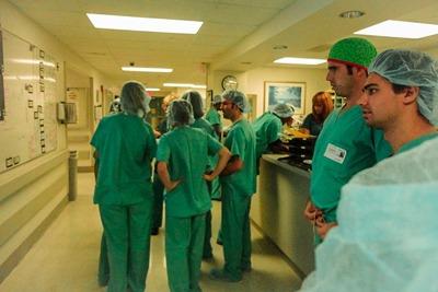 Prácticas en hospitales MPG