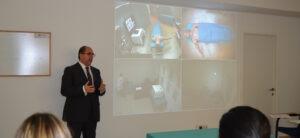 Visita a la clase de Enfermería de Quirófano