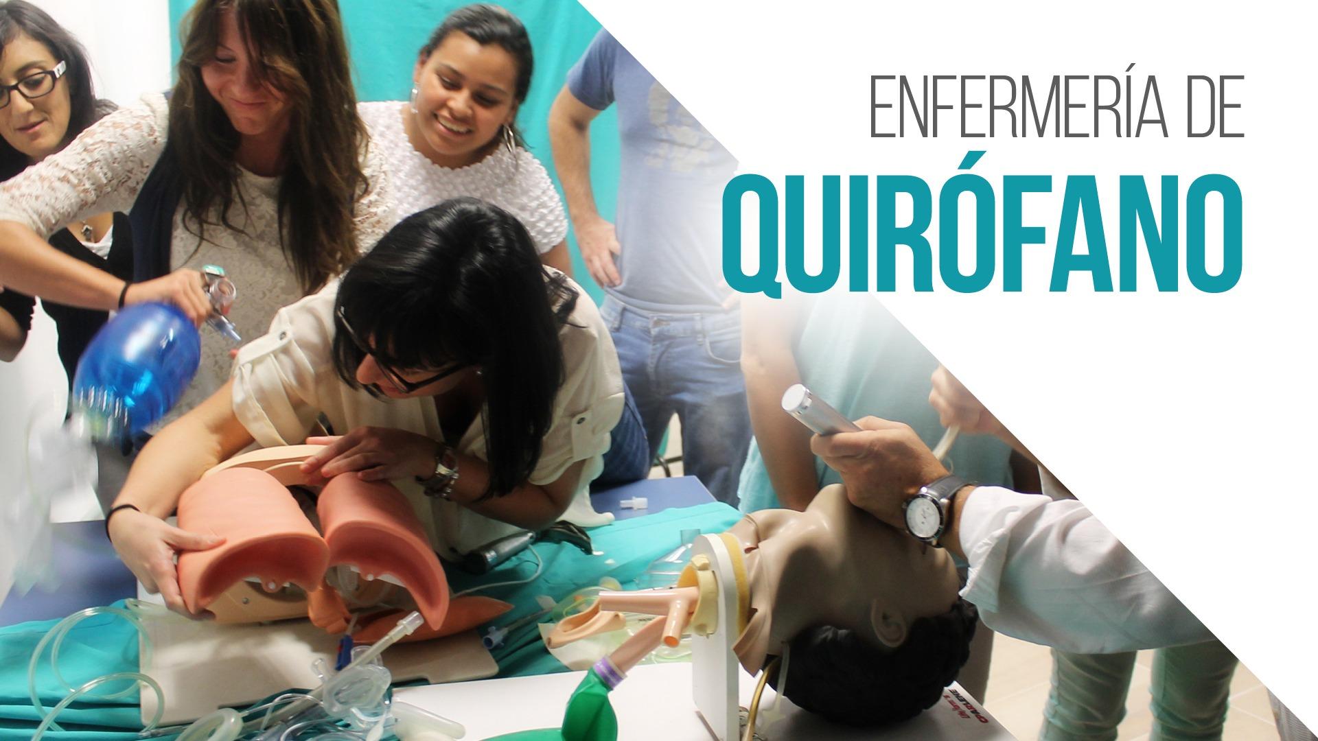 Nueva Edición del Máster en Enfermería de Quirófano
