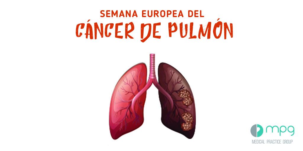 La segunda semana de septiembre se celebra la Semana Europea de Cáncer de Pulmón
