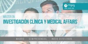Fusión de los másteres en Investigación Clínica y Medical Affairs