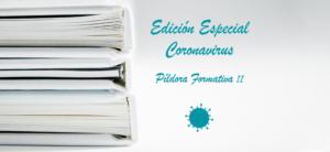 Píldora Formativa II. Fuentes Oficiales para hacer frente al Coronavirus