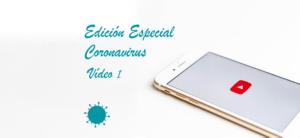 Vídeo I. Trucos y recomendaciones para el confinamiento